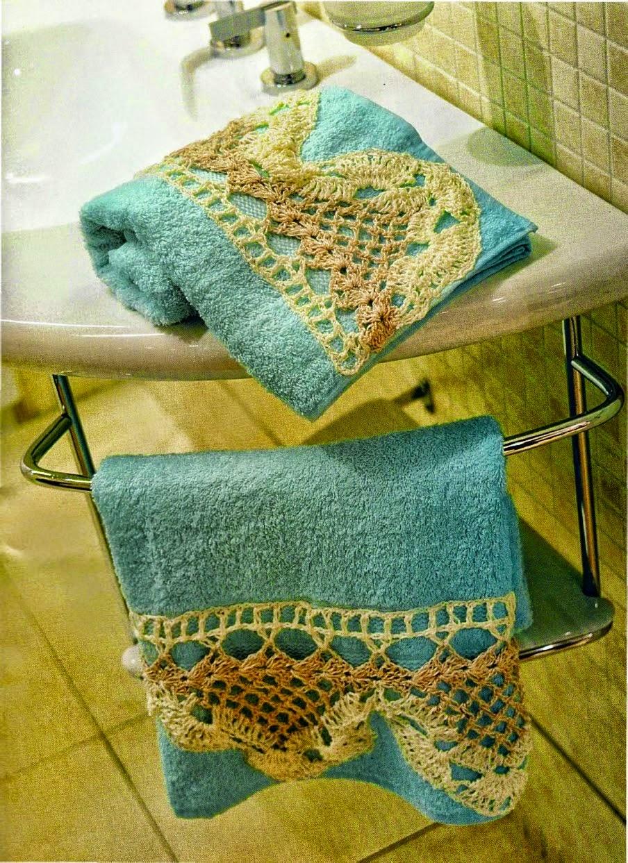 Decoracion De Banos Tejidos A Crochet : Decoracion de bano tejidos a ...