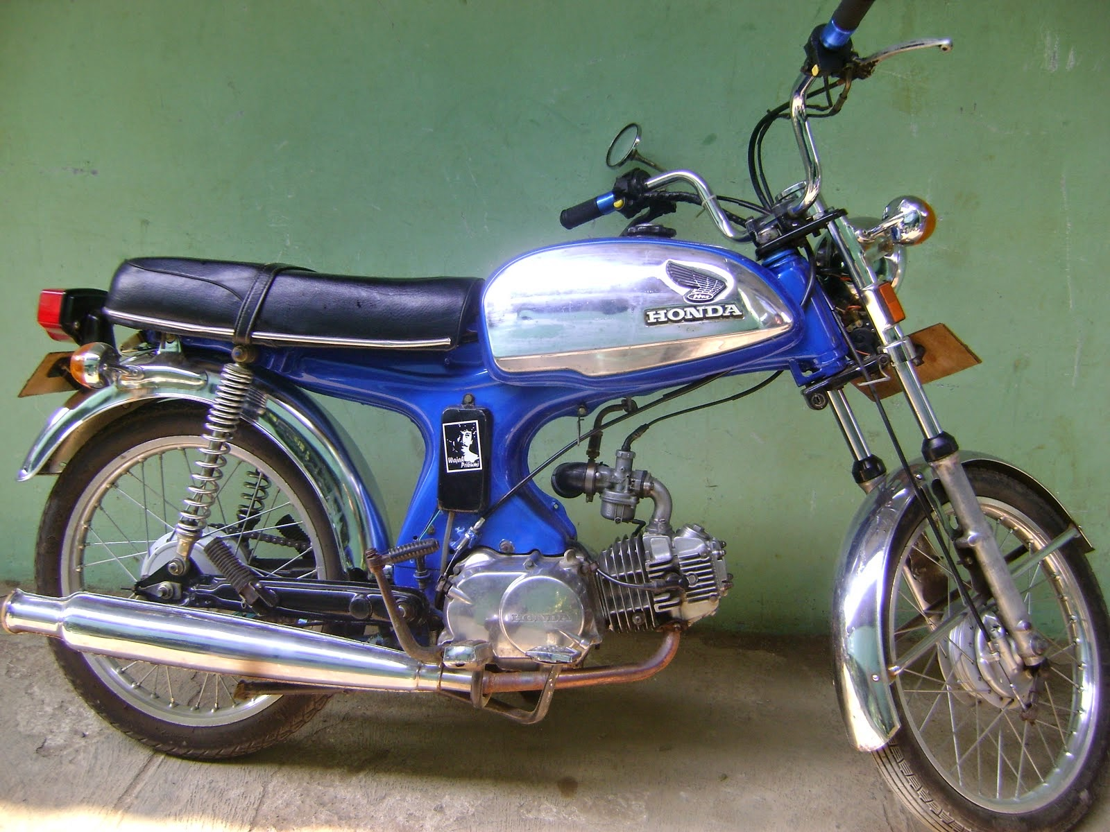 referensi modifikasi motor 70an