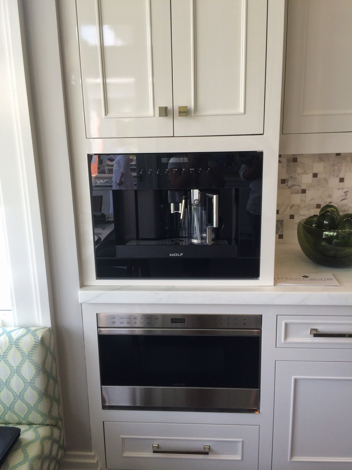 Built in coffee makers are becoming as standard as microwaves ~ I'm