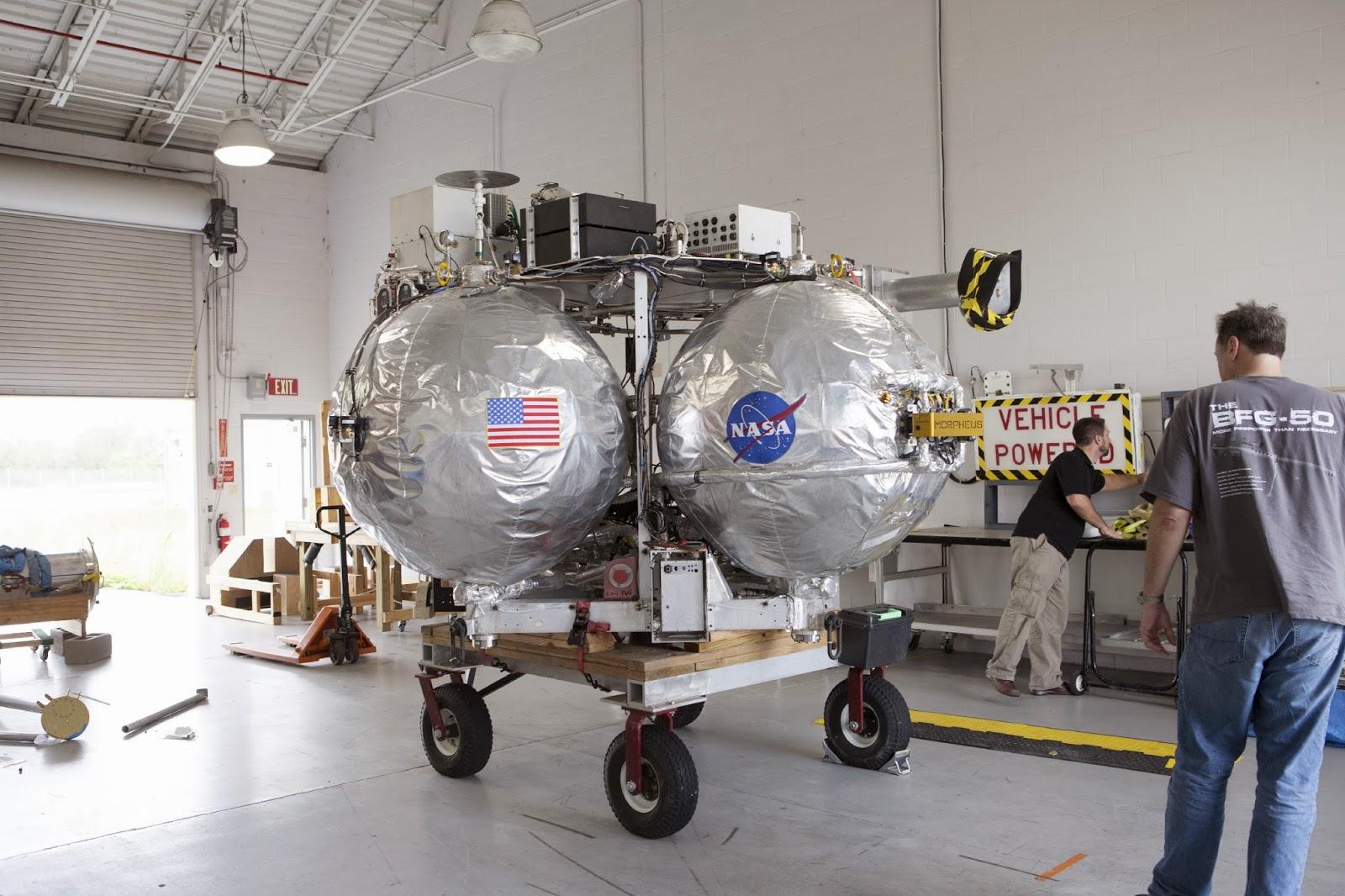 Progetto Morfeo, NASA: il veicolo spaziale costruito su marte
