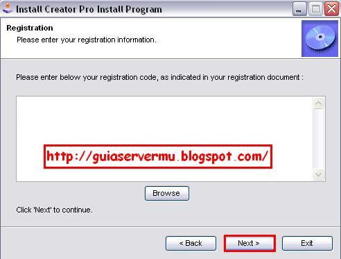 Agregando código de registro