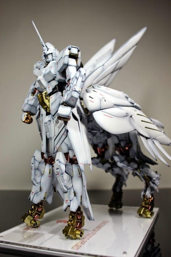 GUNDAM GUY: 1/100 RX-0 Unicorn Gundam Beast Mode Pegasus
