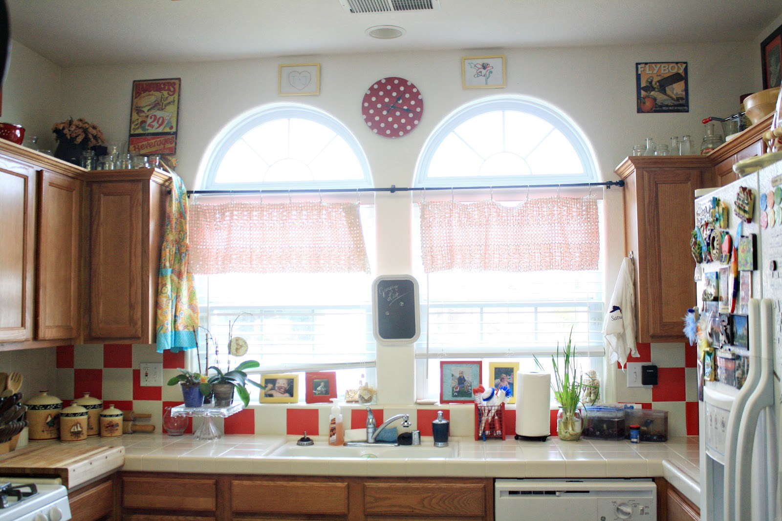 Notes from the Plumb Tree: An Ode to Contact Paper and a Retro Kitchen
