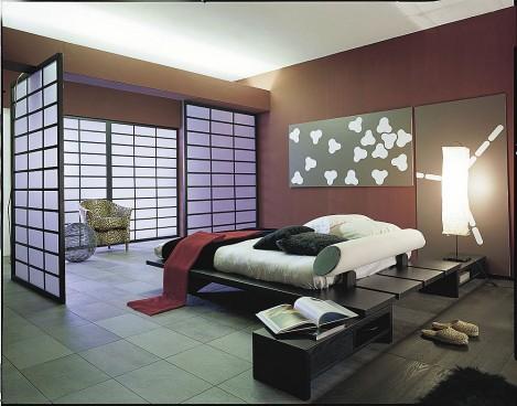 Camas en el piso al estilo oriental decoracion de salas for Decoracion estilo oriental