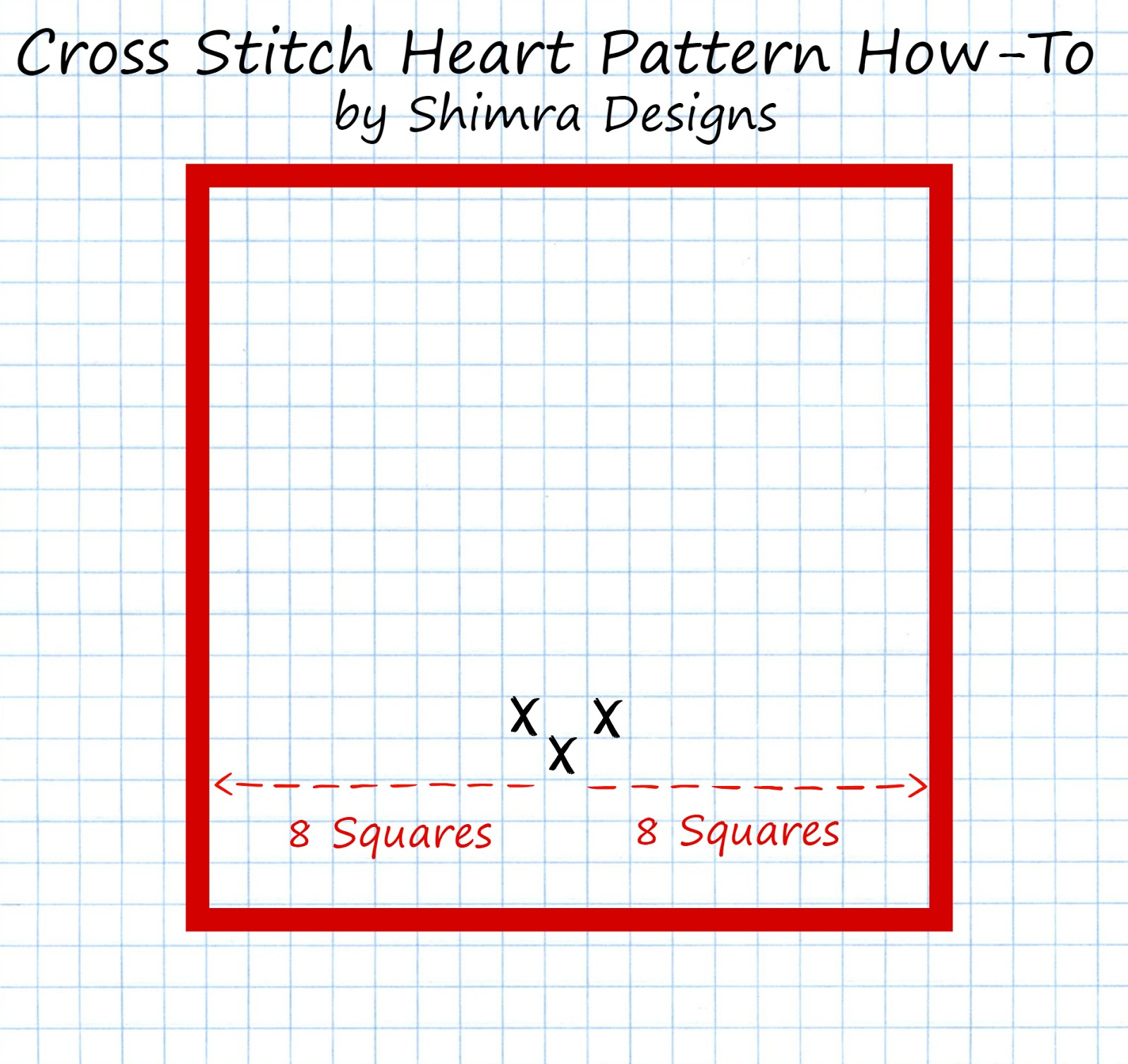 Shimra Designs: Tutorial: How to make your own Cross Stitch pattern