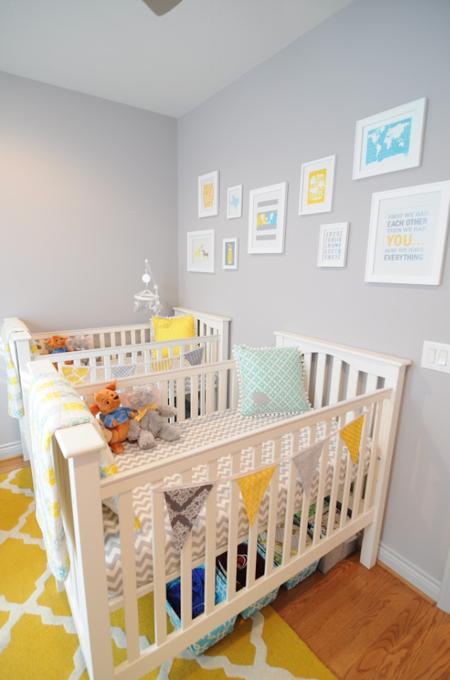 Enduring Arts Yellow And Grey Nursery