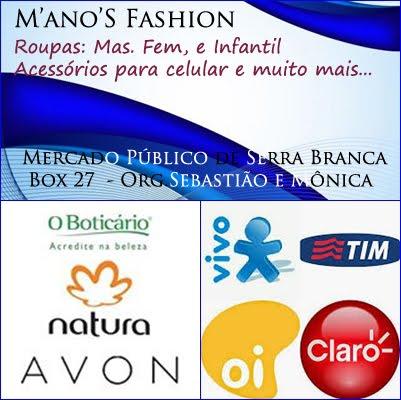 M´ano´S Fashion em Serra Branca