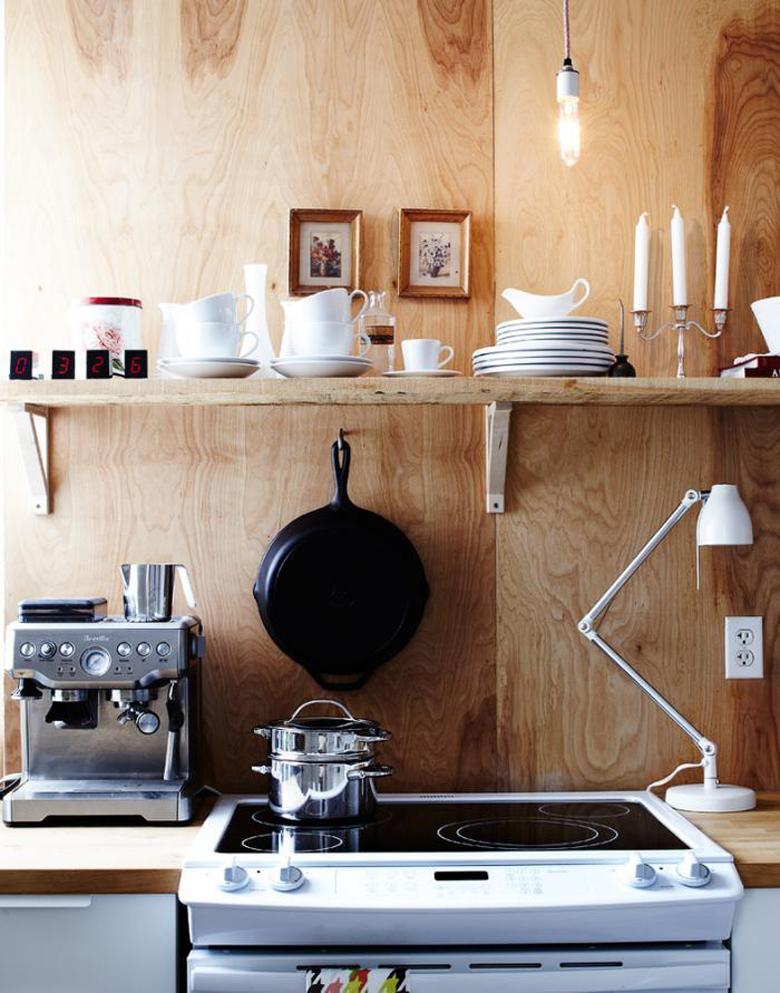 Fronty kuchenne ze sklejki drewnianej. Natura i design.