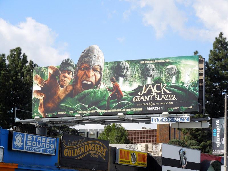 Jack Giant Slayer special extension billboard