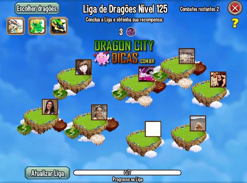 Atualização do Mundo de Combates do Dragon City