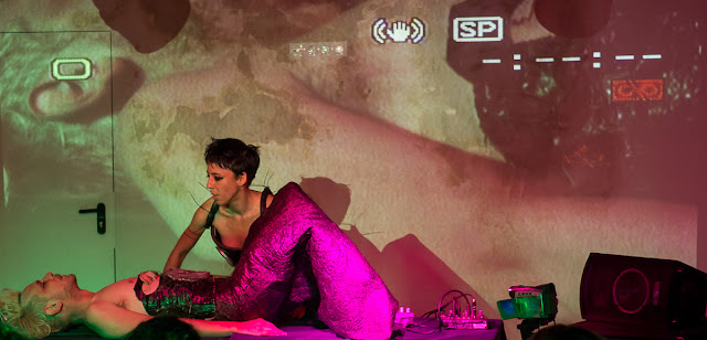 Performance sEXUS 3 Part 1 : Zhora /// por Quimera Rosa- Zaragoza 02 Octubre 2015