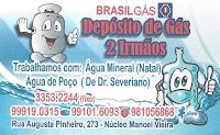 DEPÓSITO DE GÁS 2 IRMÃOS