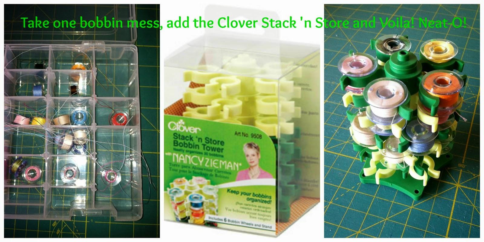 Stack and store bobbins