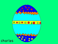 This is Charles' egg