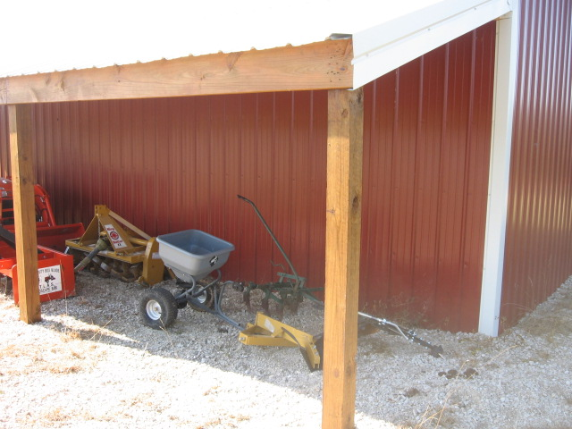 Simple Life A Quick And Dirty Work Bench Pole Barn Plans