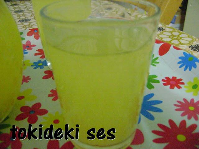 tokideki sesin limonata tarifi