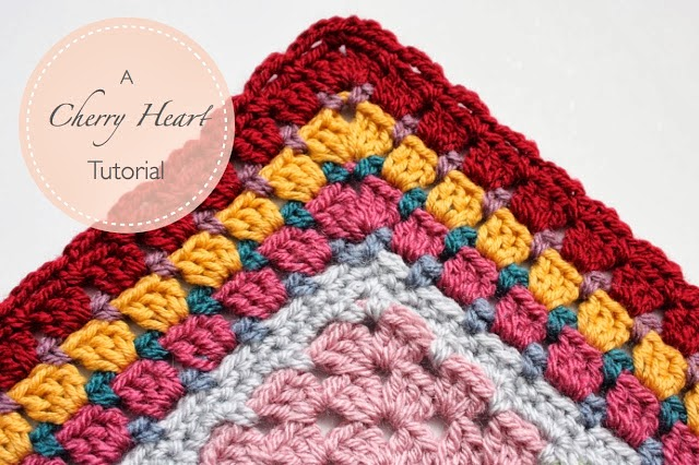 mes favoris tricot crochet tuto crochet une jolie bordure de granny. Black Bedroom Furniture Sets. Home Design Ideas