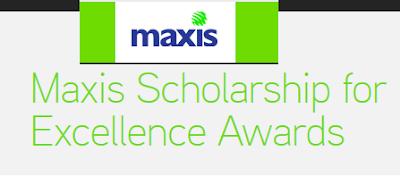 Permohonan Maxis Scholarship 2015 Online