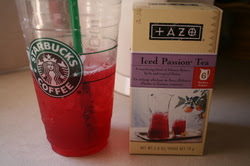 how to make starbucks passion tea lemonade sweetened