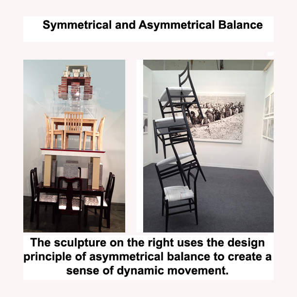 Another term for asymmetrical balance is