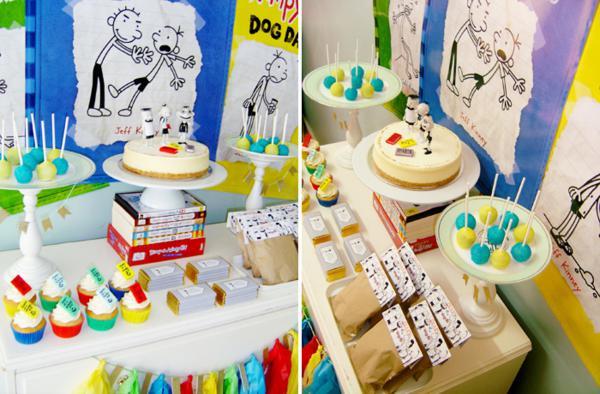 Dicas pra Festas Infantis: Tema da Festa: Diário de um banana