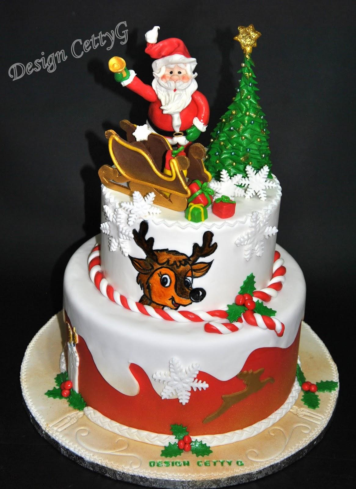Le torte decorate di cettyg cake natale 2014 - Torte natalizie decorate ...