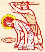 29 สิงหาคม ระลึกถึงนักบุญยอห์น บัปติสต์ถูกตัดศีรษะ