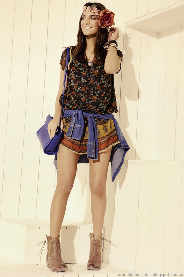 Moda vestidos de verano 2015. Kevinsgton Mujer Moda 2015.