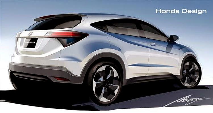 New Honda HR-V di Indonesia Dapat Dipesan Di IIMS 2014