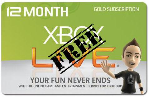 Free Xbox Live Codes Generator No Survey.