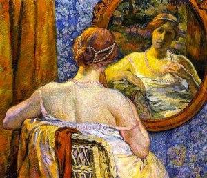 femeie-la-oglinda-theo-van-rysselberghe-1907