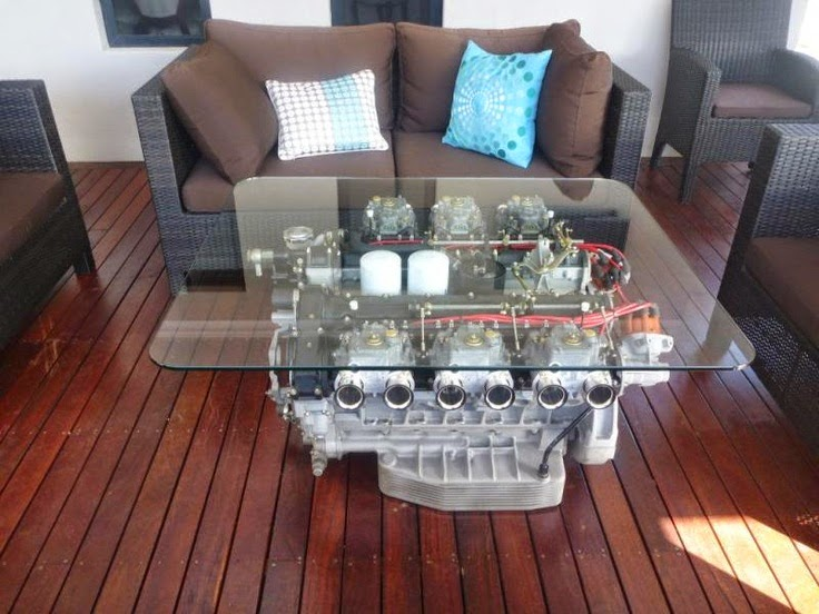 Ferrari 400 Ferrari 400 Gt V12 Coffee Table
