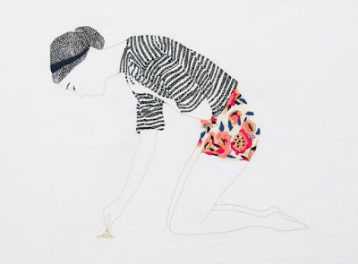 embroidery by Jazmin Berakha