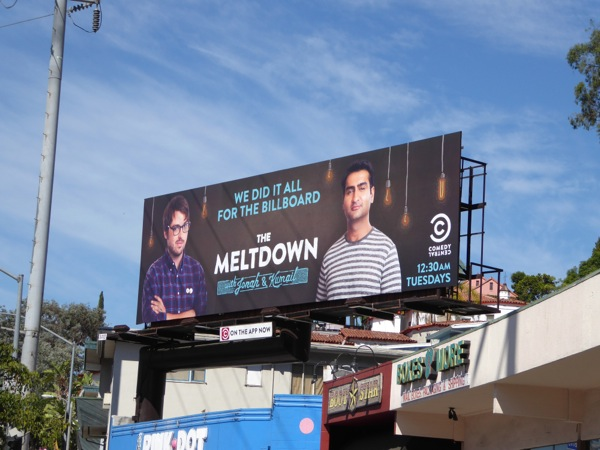 Meltdown season 2 billboard