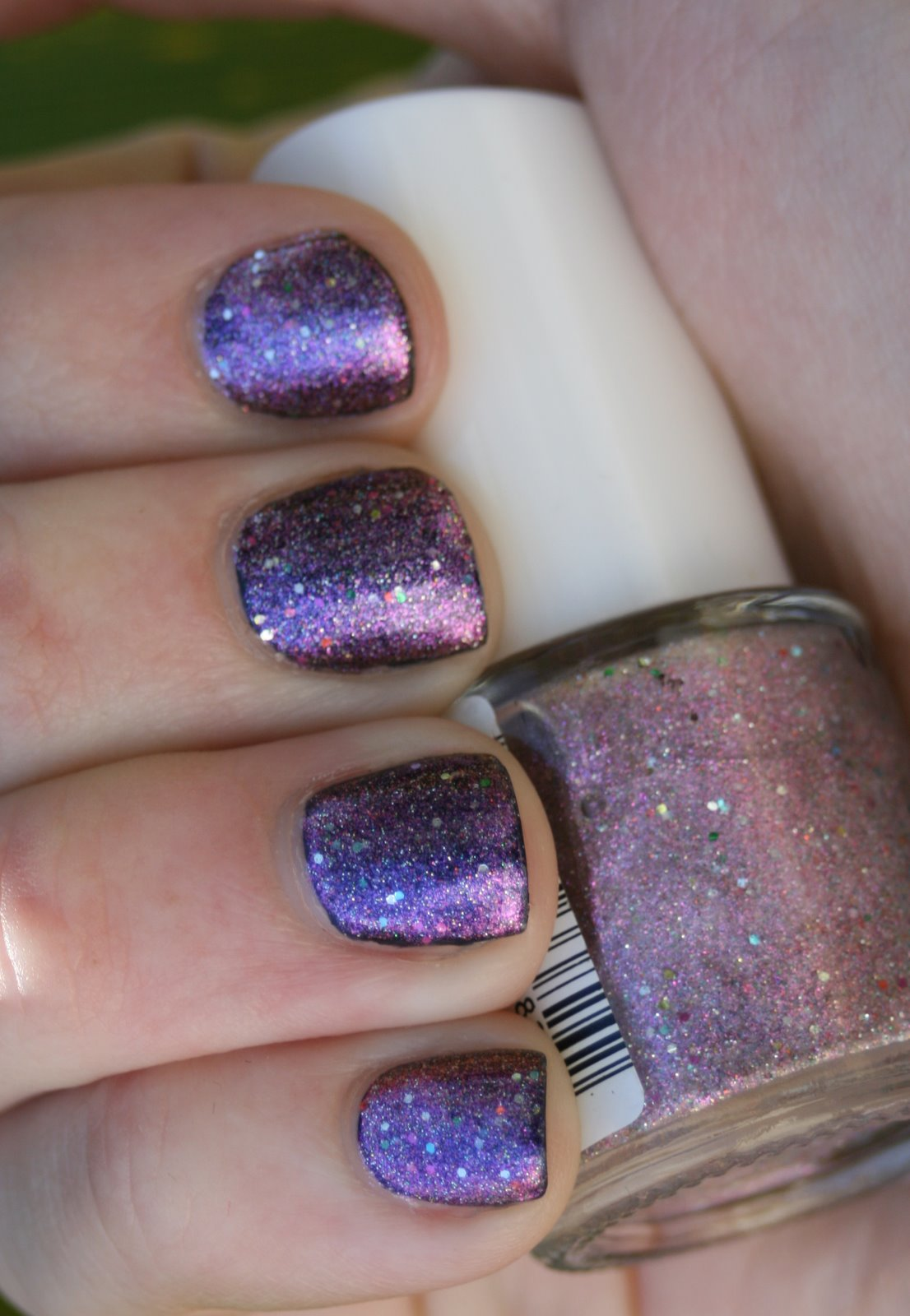 Wet n Wild Jewels For Your Highness over black swatch