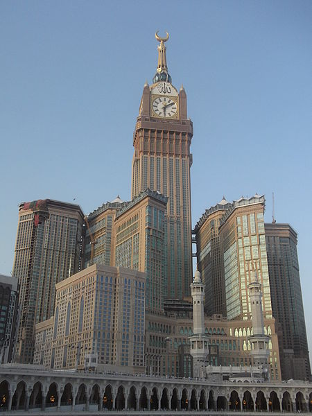 WORLD's TALLEST CLOCK TOWER