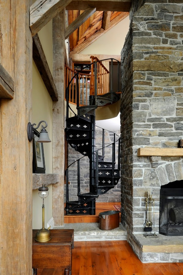 des idées d'escaliers en colimaçon
