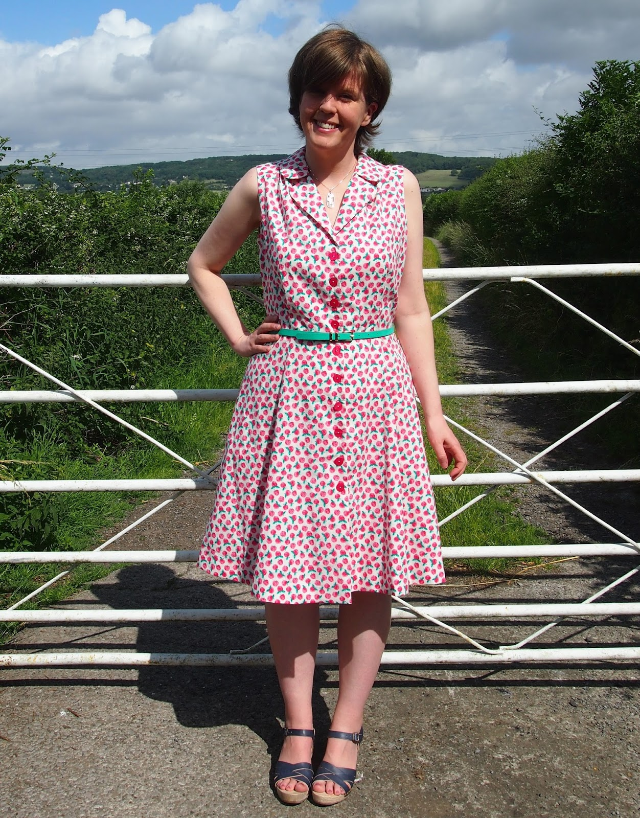 Vintage Shirtwaist Dress
