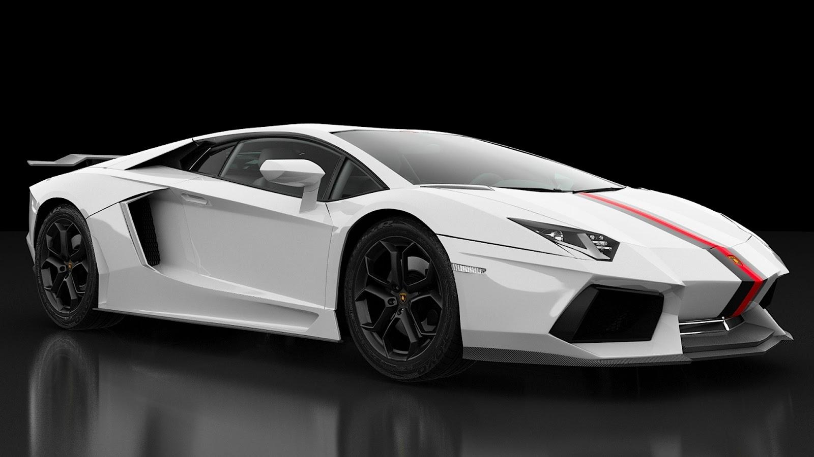 Luxury Lamborghini Cars Lamborghini Aventador White - Cool lamborghini cars