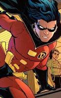 Robin (Tim Drake) nas HQs