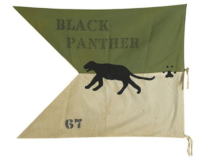Black panther banner 1967