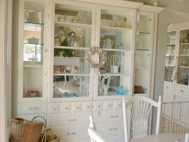 Our Built In China Cabinet