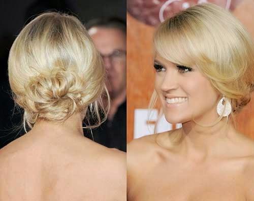 Cute Bun Hairstyles For Short Hair