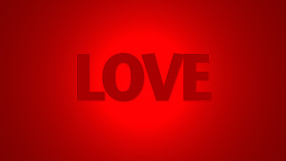 Red Background Love HD Wallpaper