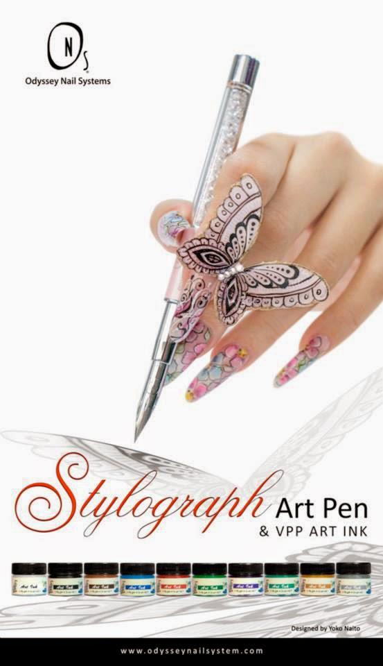 J Nail Studio: Stylograph Poster Design
