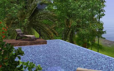 Sims 3 fun time infinity edge pool for Pool design sims 3