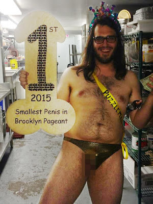 This is the winner of Brooklyn's 2015 smallest penis contest