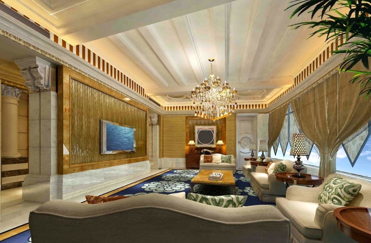 Luxury home decors in dubai interior design for Luxury living room design