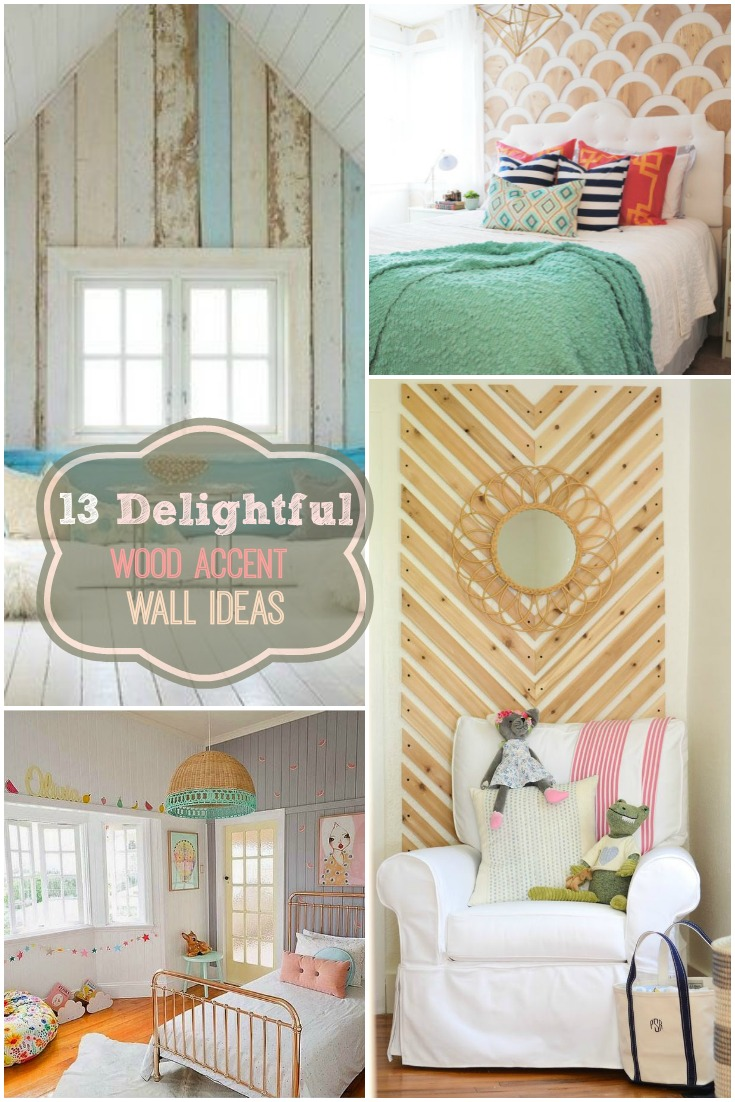 13 Delightful Wood Accent Wall Ideas