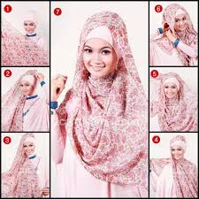 model jilbab pashmina rawis